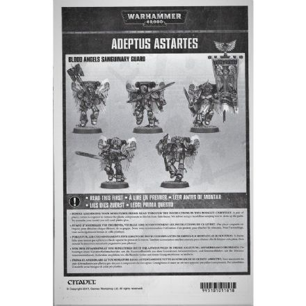 Blood Angels Sanguinary Guard Assembly and Rules book 2017